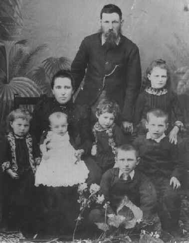 Family Portrait Bowen c1892